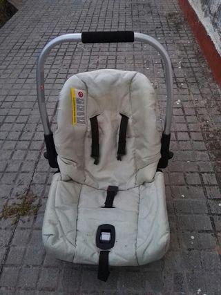 sillita para coche y/o carrito, silla bebé