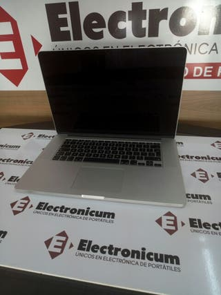 Macbook Pro retina 15 i7 16GB 480GB SSD