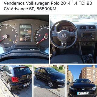 Volkswagen Polo 2014 1.6 TDI 90 CV Advance