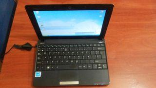 Netbook marca eeE PC ASUS.