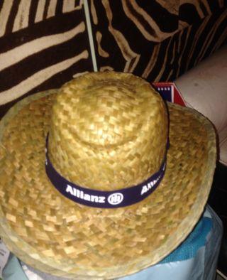 Sombrero de paja para sol