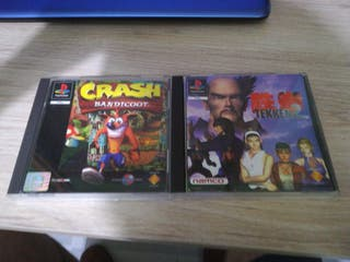 crash 1 y tekken 2