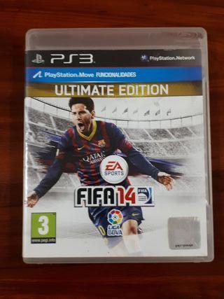 FIFA 14 - ULTIMATE EDITION - SONY PS3 - FUTBOL