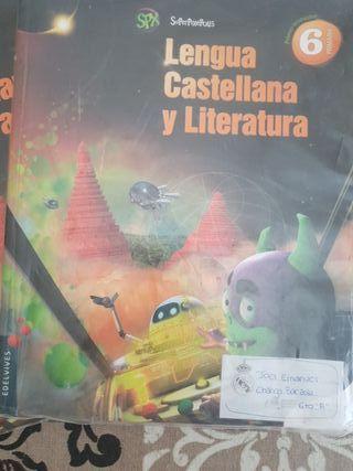 Libros de Lengua de Sexto de Primaria