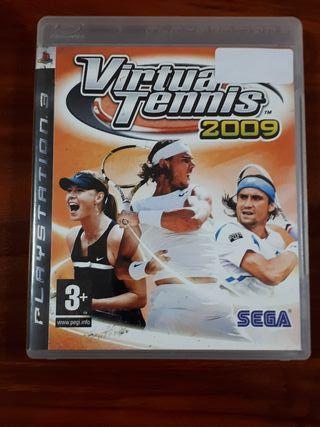 VIRTUA TENNIS 2009 - SONY PS3 - SEGA - COMPLETO
