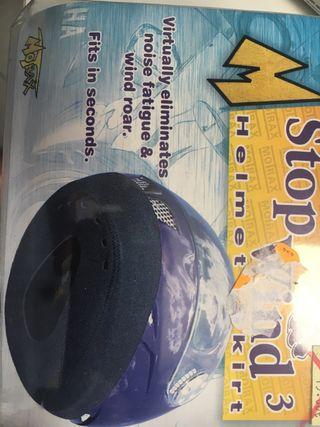 Protector casco