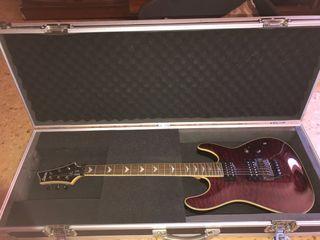 Guitarra eléctrica Schecter.