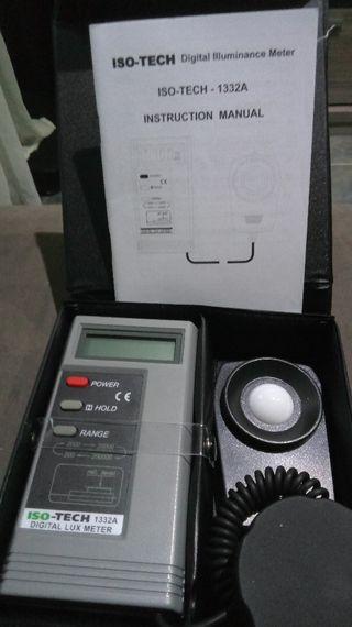 medidor de luz digital