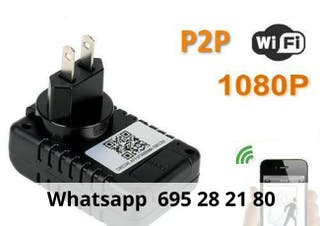 Camara WIFI IP tranformador de enchufe tjw