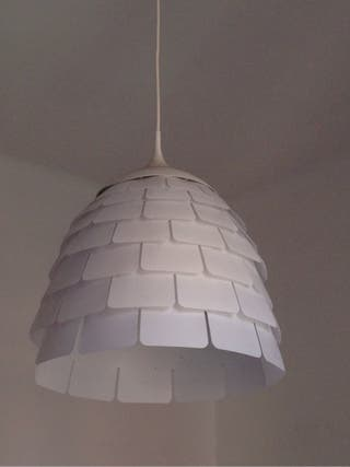 Lámpara Ikea techo