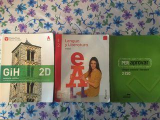 Libros 2ESO (pràcticament sin uso)