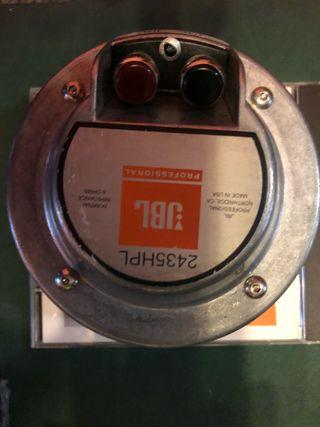 Altavoces motores JBL 2435 HPL
