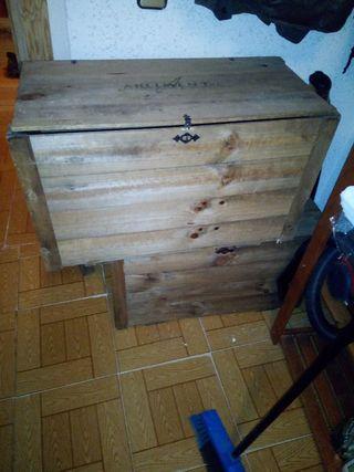 bahul madera rustico