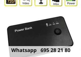 Dispositivo espia powerbank videocamara pcp