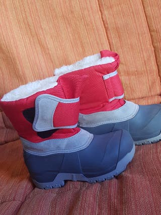 botas nieve niño