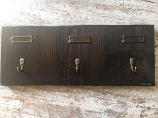 Perchero madera #handmade