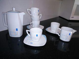 juego cafe cerámica