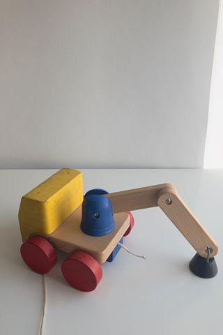 Grúa juguete Ikea
