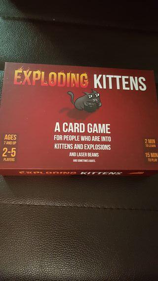 Exploding Kitties ( Ingles )