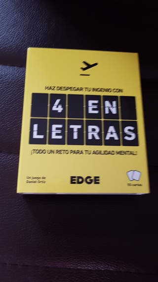 4 en letras ( juego de cartas )
