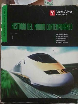 Libro Historia del mundo contemporáneo 1 bachiller