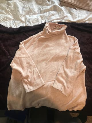 Clear pink sweater