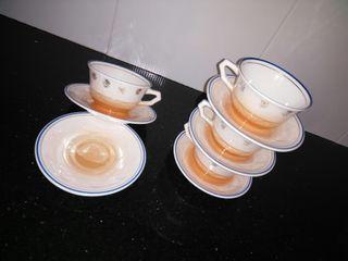juego tazas cerámica
