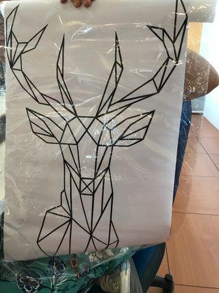 Vinilo ciervo
