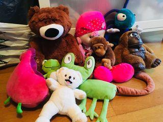 Lote 12 muñecos de Peluche