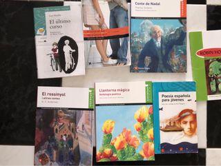Libros lectura 1 ESO