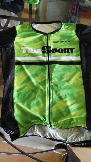 Equipaje ciclismo marca Gsport, talla S.