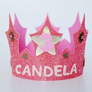 Coronas Cumpleaños personalizadas