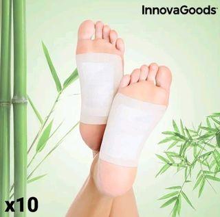 Parches desintoxicantes para pies (pack de 10)