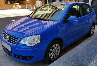 Volkswagen Polo azul. 100cv. Gasolina
