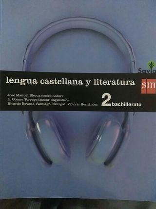 Libro lengua castellana literatura 2 bachillerato