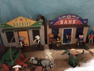 Playmobil banco sheriff