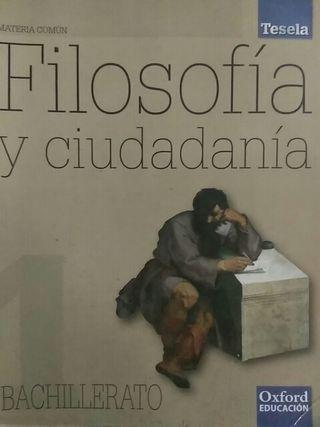 Libro filosofía y ciudadanía 1 bachillerato