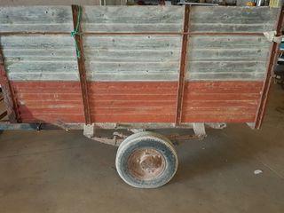 carro antiguo para campo