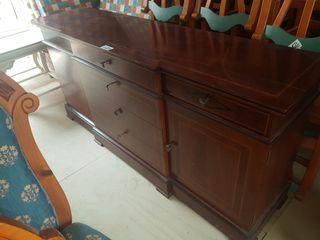 mueble aparador con puertas y cajones