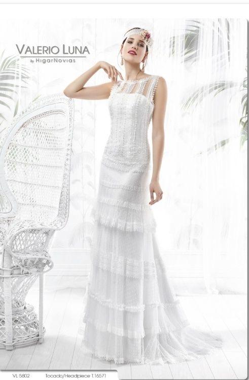 vestido de novia valerio luna de segunda mano por 750 € en coín en