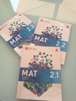 Libro Matemáticas ESO