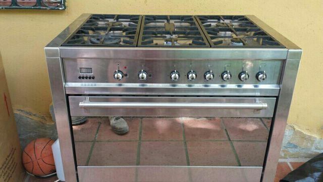 cocina con horno smeg