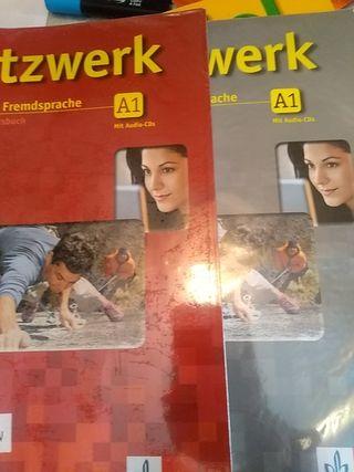 Netzwerk A1 (dos libros de alemán)