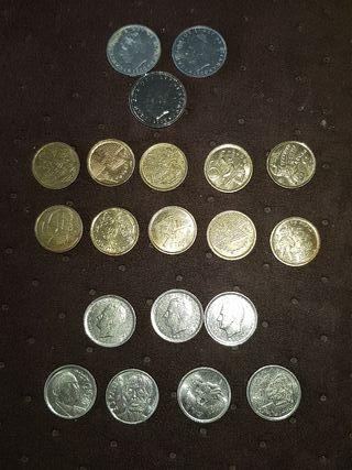 mas monedas de peseta