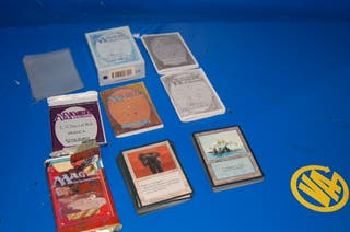 Lote 119 cartas MAGIC The Gathering-alguna repetid