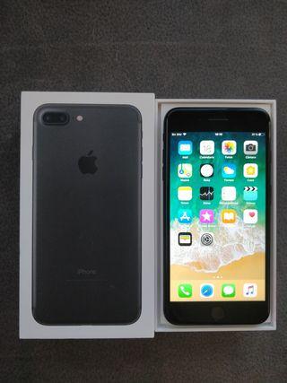 iPhone 7 Plus 128gb jet black libre nuevecito