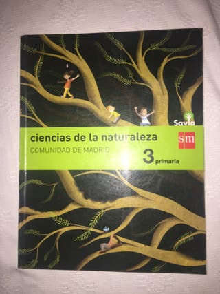 Libro Naturales SM 3 Primaria