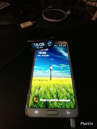 Samsung Note +Samsung Gear