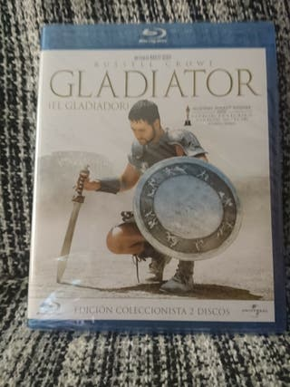 Gladiator Blu Ray (Edición Dos Discos) PRECINTADA