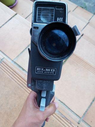 Cámara de video antigua Elmo